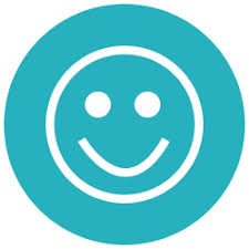 review icon smile